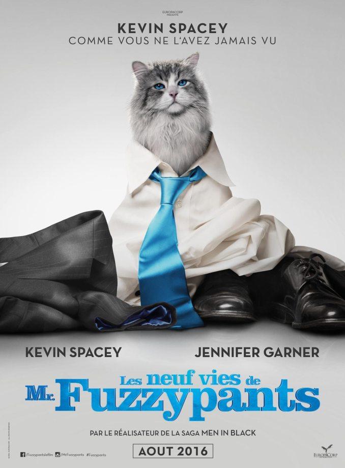 Découvrez les neuf vies de Mr. FuzzyPants afffiche