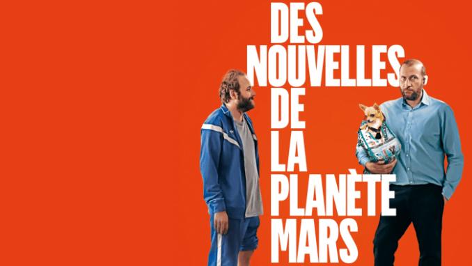 Des nouvelles de la planète Mars-affiche