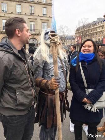 game of Thrones Ice Truck Paris 24