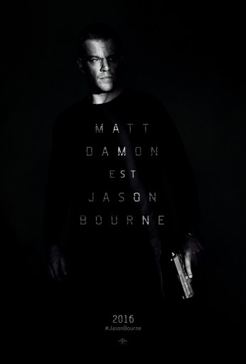 Jason Bourne affiche teaser