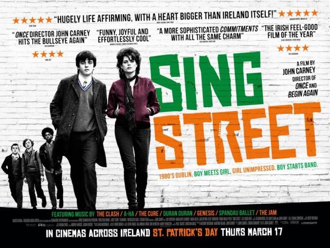 Sing Street irish poster