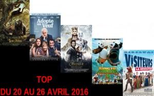 TOP 20 AU 26-4-2016