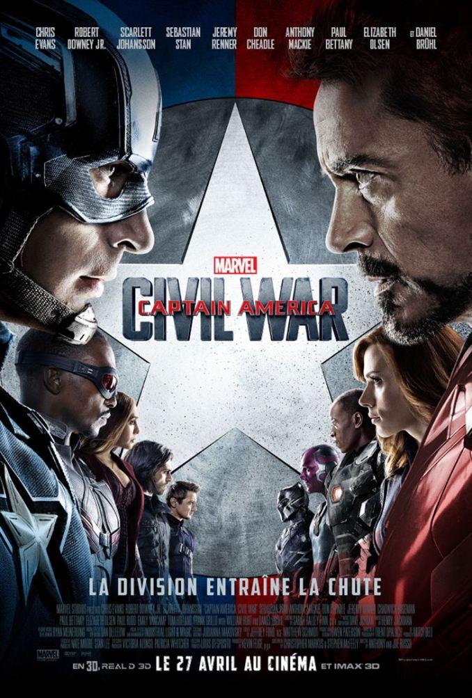 Seconde critique de Captain America - civil war