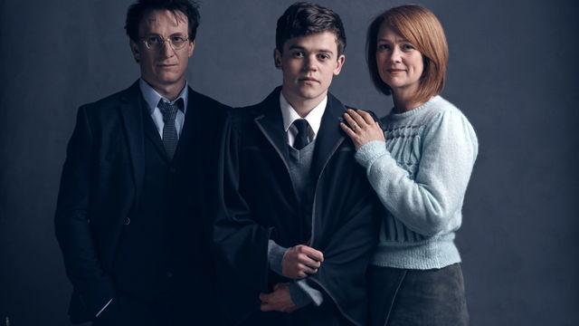 Harry Potter, Albus et Ginny