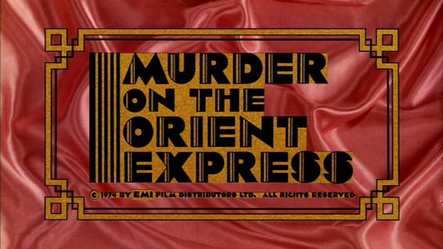 Crime de l'orient express 1974 affiche