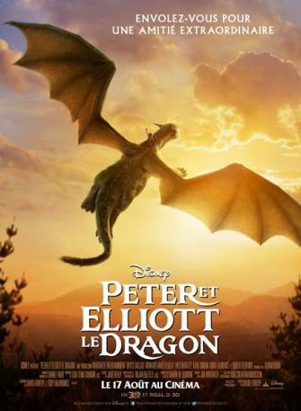 Peter Dragon afiche nuit
