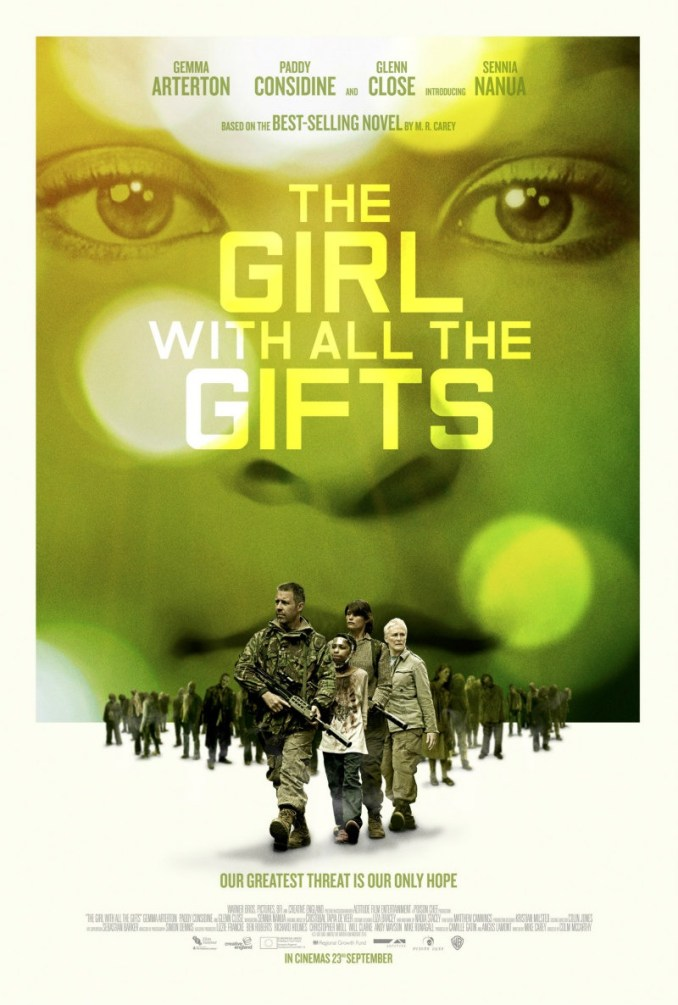 The girl with all the gifts - Affiche