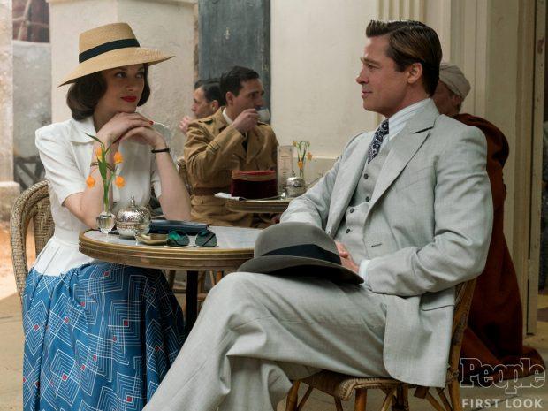 Allied Cotillard Brad Pitt