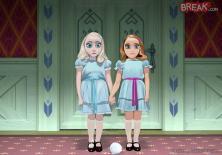 Elsa et Anna sont les jumelles de Shining