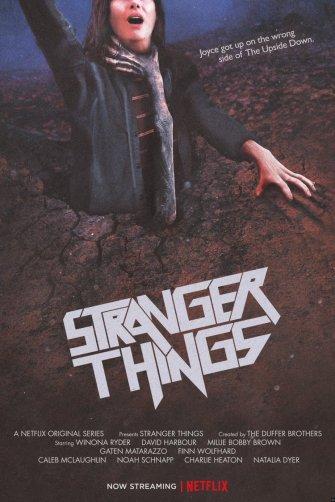 Stranger Things hommage Evil Dead