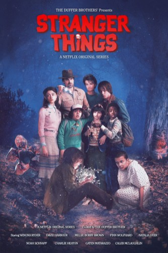 Stranger Things hommage goonies