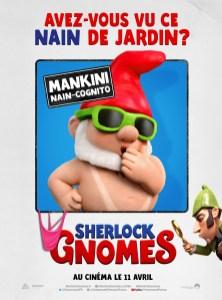 Sherlock Gnomes affiches FR4