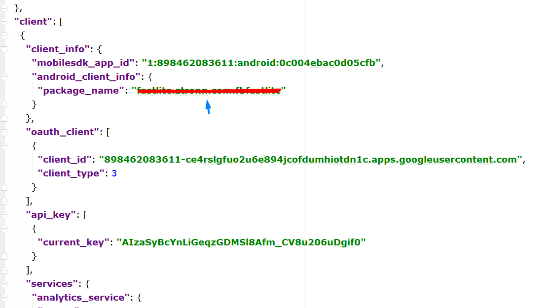 Here is How to Fix No matching Client Found for Package Name on