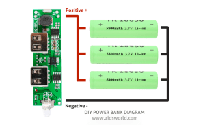 diy powerbank diagram