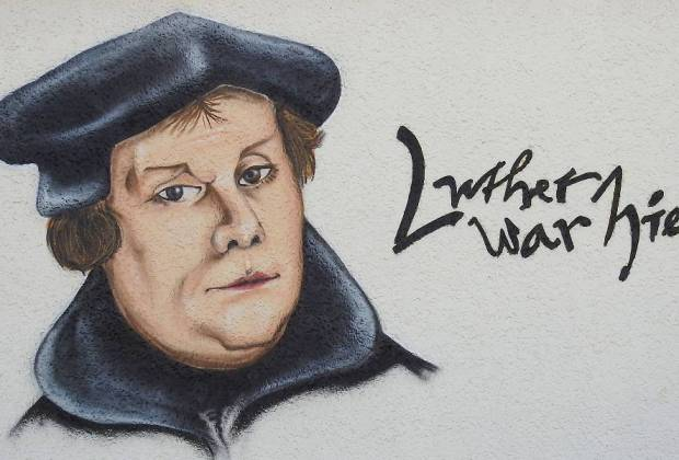 Luther was hier