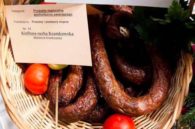 """Konkurs """"Nasze kulinarne dziedzictwo Smaki regionów"""" - Podlasie kiełbasa kramkowska"""