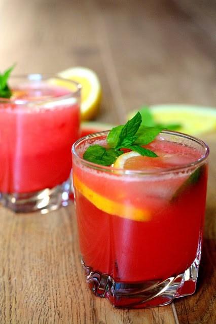 Lemoniada arbuzowa - orzeźwiająca i pyszna