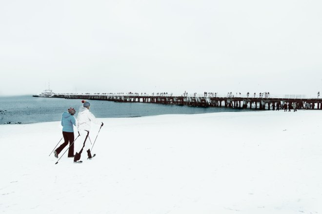 weekend nad morzem zimą - sopot
