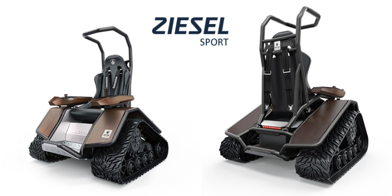 Ziesel Sport in anthracite grey