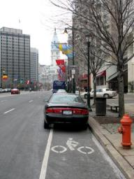 "A Philly bike lane - NY Bicycle Accident Lawyer Explains How to Protect Yourself in a ""Dooring"" Claim"