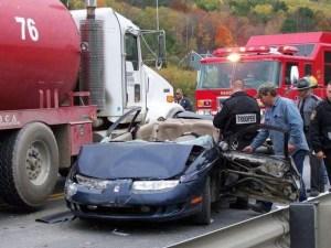 Tioga Car Crash