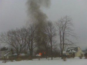 joseph street explosion 300x225 - Another House Explodes in Horseheads, New York!
