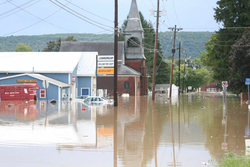 Flood4 - UPDATED WITH PHOTOS: Our 'Valley Girl' Helps With Flood Recovery, Says NY Injury Lawyer