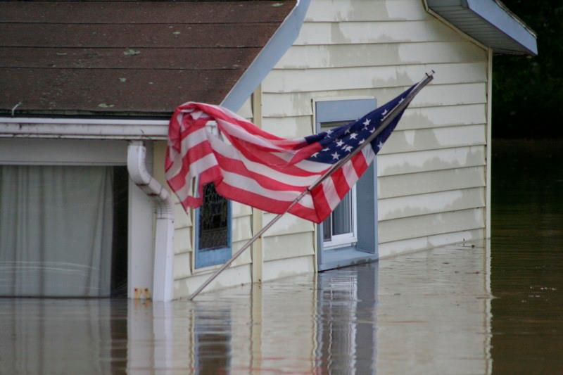 Flooding1 - UPDATED WITH PHOTOS: Our 'Valley Girl' Helps With Flood Recovery, Says NY Injury Lawyer