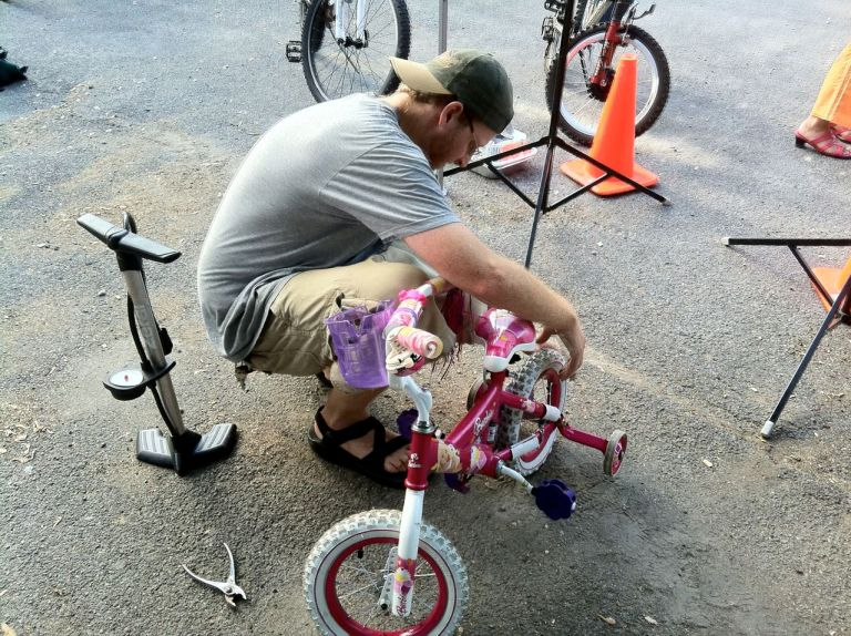 pf20112 - Get Your Bike Checked - And Make New Riding Friends - Sunday At Ithaca Clinic, NY Bicycle Attorney Says
