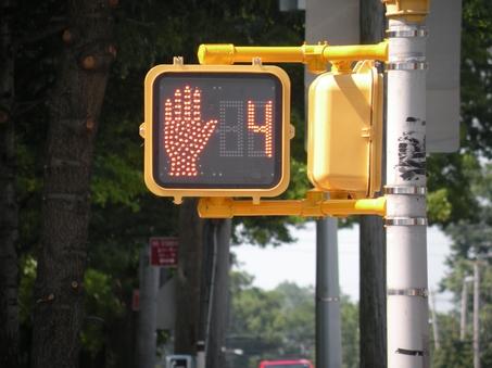 Crosswalk Light Red