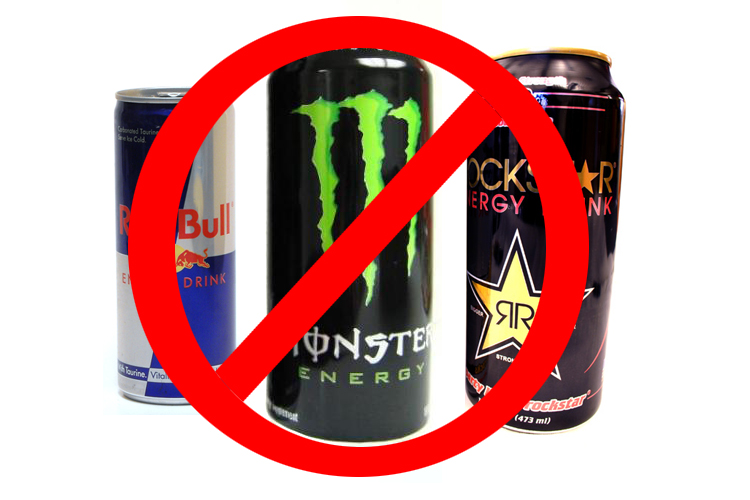 ban - Energy Drinks May Be Hazardous To Your Health!