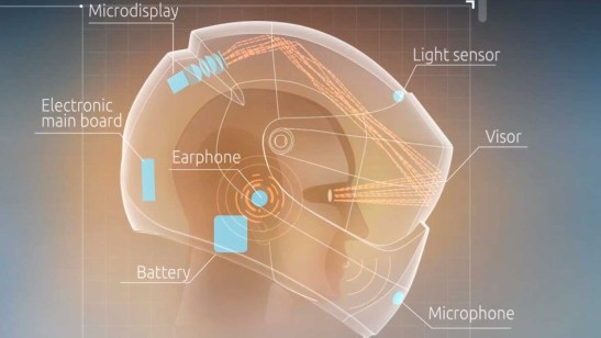 reality motorcycle helmet - Motorcycle Helmets Could Go High-Tech With Google Glass Innovation, Says NY And PA Motorcycle Lawyer
