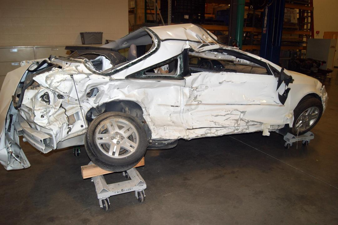Brooke Melton was killed in this Chevrolet Cobalt in 2010 because of a defective ignition installed by GM.