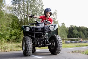 Children should only ride age-appropriate ATVs.