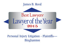 Lawyer of the Year logo - Jim Reed Named Best Injury Lawyer In The Region By His Peers In The Twin Tiers