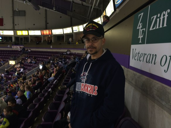 Scott Swanson was a Veteran of the Game last season. The Army veteran served three tours of duty in Iraq, Afghanistan, Germany, South Korea and Kosovo.
