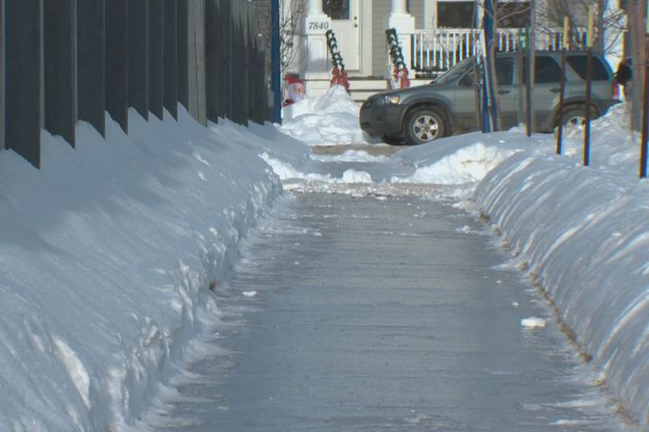 edmonton slippery sidewalks - Be Sure Your Sidewalk Is Safely Clear Of Ice And Snow This Winter, Says NY and PA Injury Lawyer