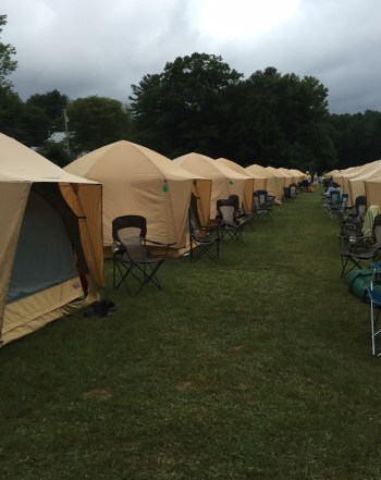 Comfy Campers provided our weekend accommodations. (Photo courtesy of Huffington Post/Stefani Jackenthal.