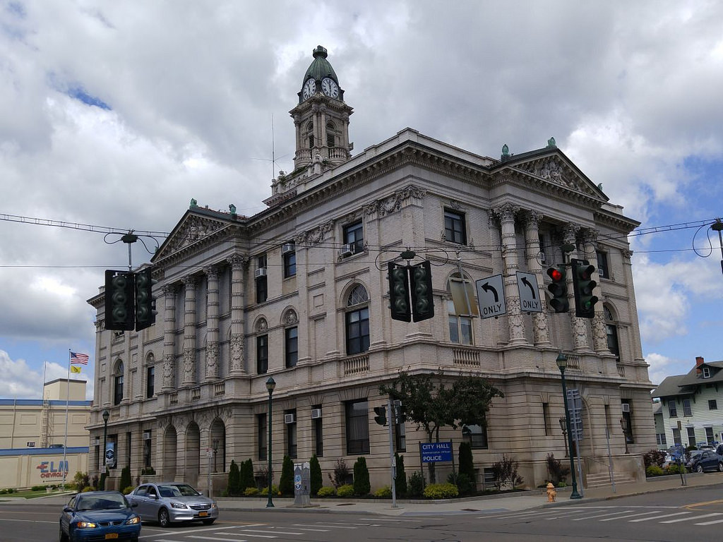Elmira City Hall - Elmira Seeks Safer Streets With New Transportation Plan