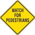 reflective pedestrian crossing signs watch for pedestrians l7534 lg 150x150 - Pedestrian Collisions In Chemung, Ithaca A Reminder About Walking Safely At Night, Says NY and PA Accident Lawyer