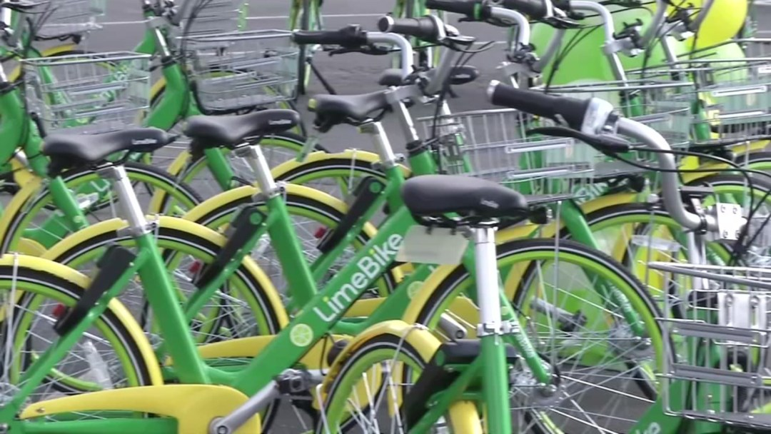 Lime Bikes 3 - Arson In Ithaca: Police Seek Witnesses After Four Lime Bikes Set On Fire