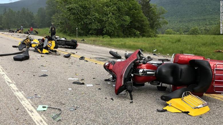 Truck Driver Charged In Crash That Killed Seven Motorcyclists In New Hampshire
