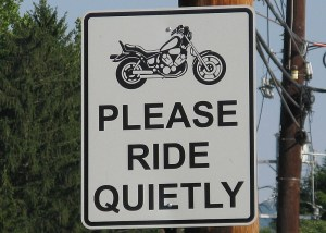 ride quietly - Elmira Police Ordered To Unfairly Target What They Call 'Noisy' Motorcycles, Says NY and PA Motorcycle Lawyer