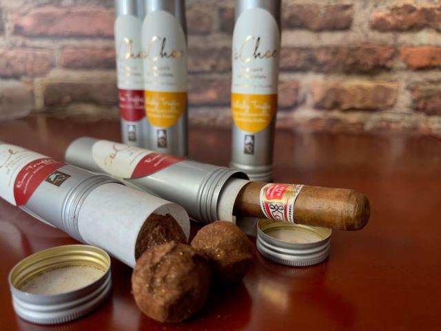 Pairing Truffes und Zigarre
