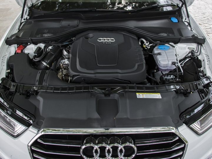 Audi A6 India review engine pic