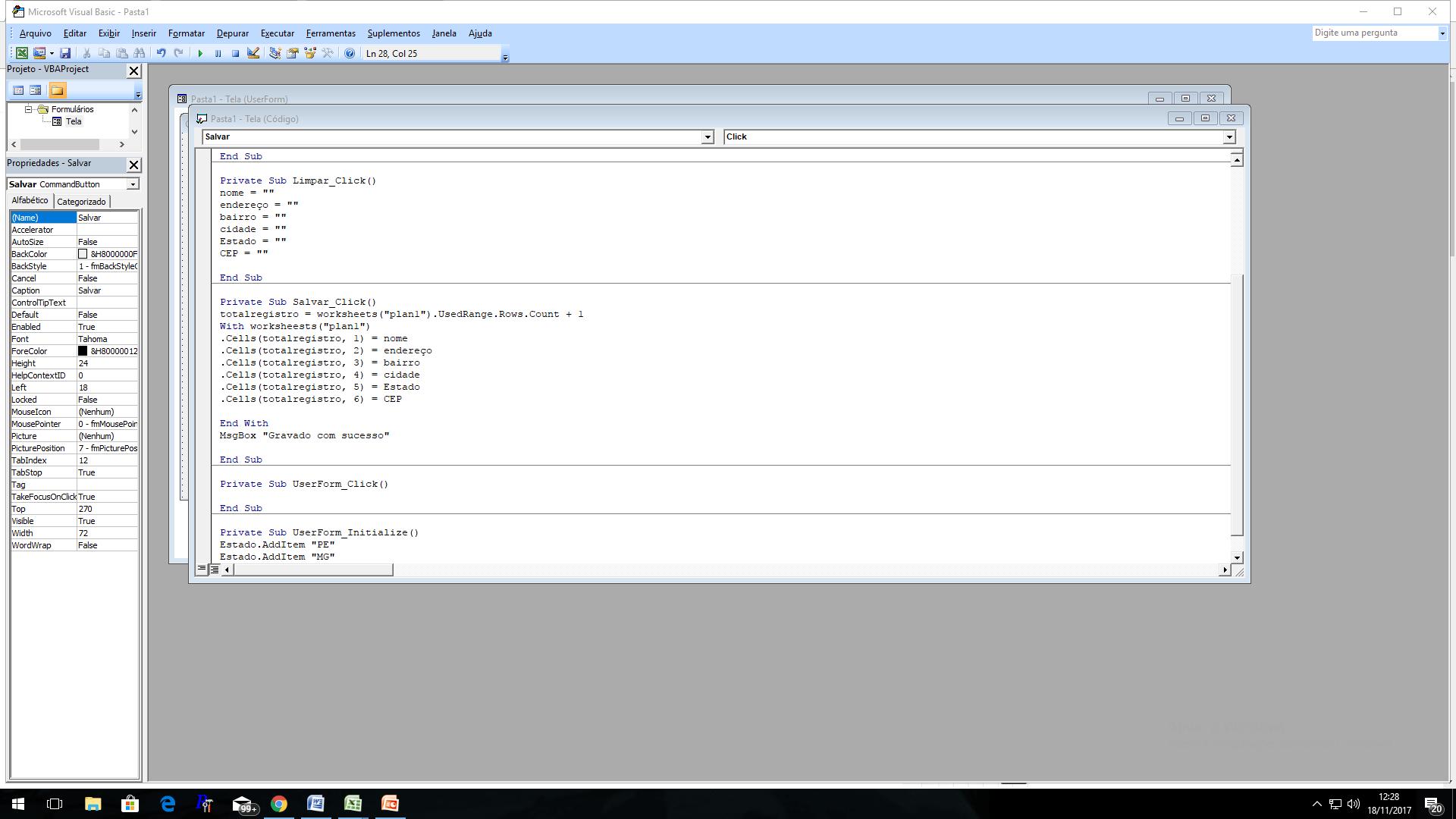 Como Criar Planilha De Cadastro Para Gestao No Excel