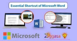 Shortcut of Microsoft Word