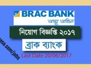BRAC Bank Limited Jobs Circular 2017