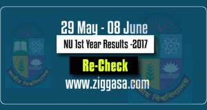 NU Honours 1st Year Result Re-Check