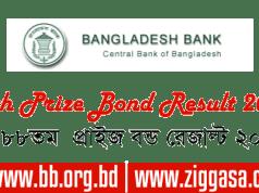 BB 88th Prize Bond Draw Result July 2017